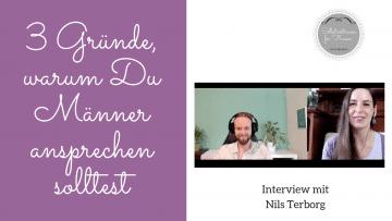 Männer ansprechen- so klappt´s Interview mit Nils Terborg